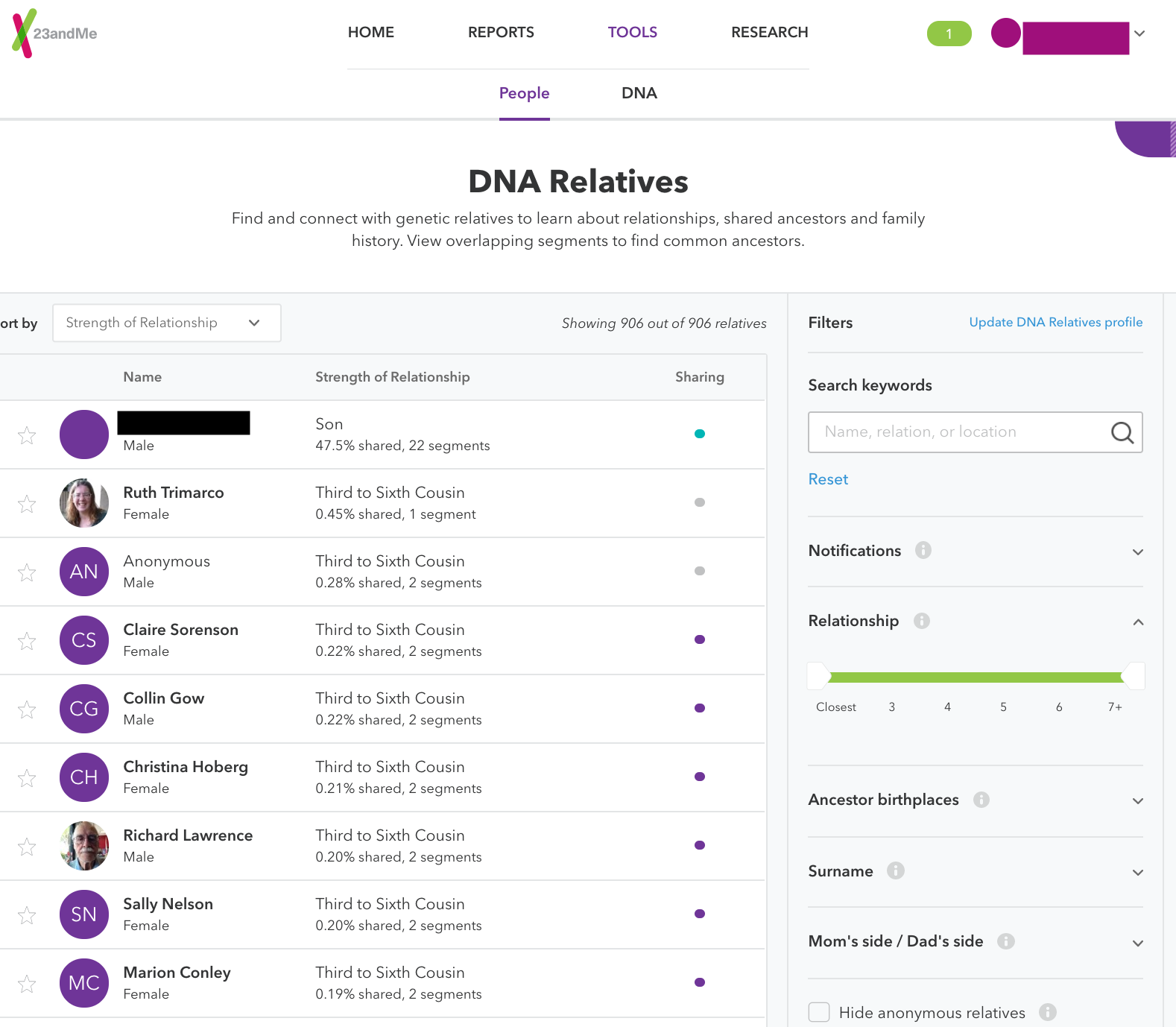23andme com review - the DNA testing website - TOMYDNA EN